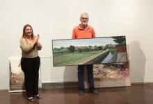 Héctor Dols gana el XVI concurso de pintura rápida con una panorámica de la huerta y la acequia