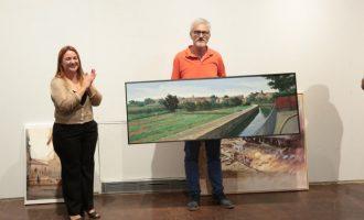 Héctor Dols guanya el XVI concurs de pintura ràpida amb una panoràmica de l'horta i la sèquia