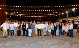 Mislata acull al conseller Arcadi España en el seu quart dia de Festes Populars
