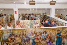 La pintura a aquarel·la més gran del món, a la Sala d'Exposicions de Mislata