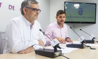 Gandia tancarà el termini per a sol·licitar ajudes pels danys de l'incendi de Marxuquera l'últim dia de mes