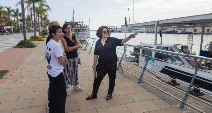 El vaixell solar de WWF visita el port de Gandia per tal de conscienciar-nos sobre la contaminació marina pels plàstics