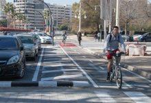 El anillo ciclista valenciano se amplía a las grandes avenidas de la ciudad