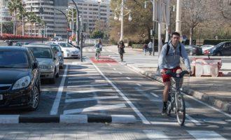 València entra en la directiva de la Red de Ciudades por la Bici