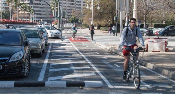 L'anell ciclista valencià s'amplia a les grans avingudes de la ciutat