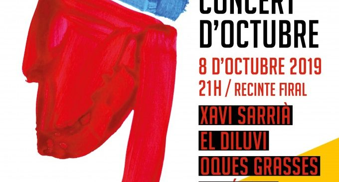 Alzira presenta el cartell de la IV edición dels concerts del 9 d'octubre amb artistes com Xavia Sarrià o Oques Grasses