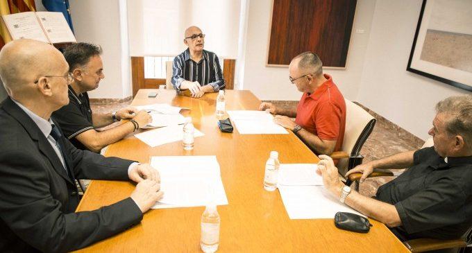 Gandia acull la reunió entre el Director General de Patrimoni Històric i la Fundació per la Restauració