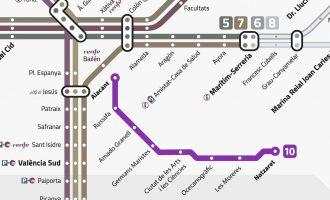 La connexió amb metro entre el centre i la Ciutat de les Arts per a 2021, l'objectiu de la Conselleria
