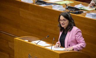 Oltra defensa la seua compareixença en Les Corts sobre el centre de Segorbe