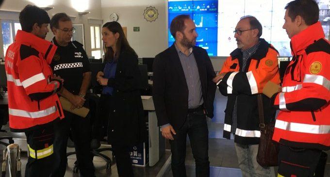 El dispositiu de protecció ciutadana ja està preparat davant la previsió de grans precipitacions a València