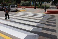 Els nous passos de vianants 3D de Torrent augmenten la seguretat de les rutes escolars