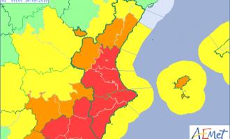 Canceladas todas las clases en València