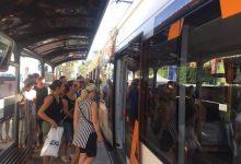 Més de 140.000 viatgers i viatgeres van utilitzar de manera gratuïta Metrovalencia, TRAM d'Alacant i TRAM de Castelló amb motiu del Dia Europeu sense Cotxe