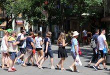 La Comunitat incrementa un 6,8% el gasto turístico realizado por personas extranjeras durante los siete primeros meses de 2019