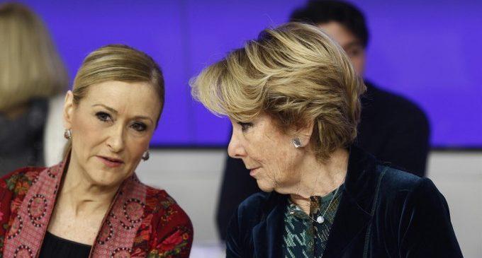 Aguirre i Cifuentes, imputades pel presumpte finançament irregular del PP de Madrid