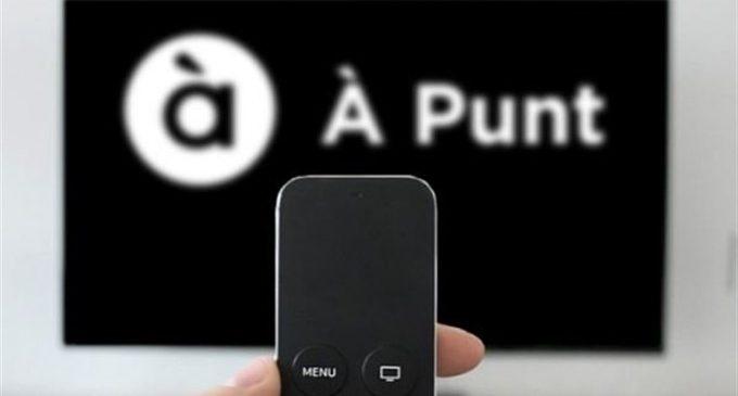"""À Punt llança el seu """"botó roig"""" per a veure tots els continguts en 'smart TV'"""