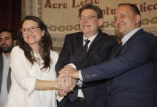 PSPV, Compromís y Unides Podem sumarían 59 diputados en Les Corts, 7 más que el 28A, según una encuesta