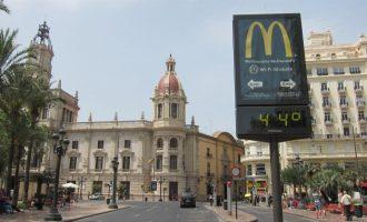València activa la campanya per ona de calor aquest estiu