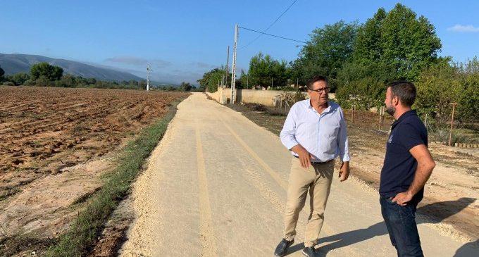 Ontinyent obri un camí provisional com a alternativa de pas al Camí del Pont del Rei