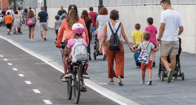L'ús dels carrils bici augmenta un 24% en València