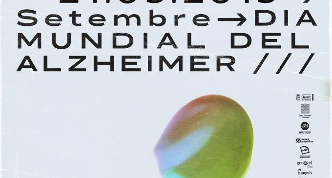 Quart de Poblet celebra el Dia Mundial de l'Alzheimer amb tallers, cinema col·loqui i la tradicional Marxa Solidària