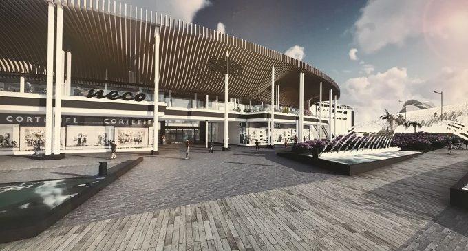 El Centre Comercial Saler es modernitza amb espais més amplis, grans terrasses i un tobogan gegant