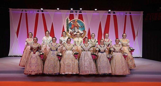 Cort d'Honor 2020: Aquestes són les candidates a Fallera Major de València