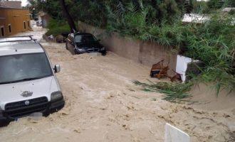 Carreteres tallades, i col·legis tancats, efectes de la DANA que encara pateixen els municipis afectats