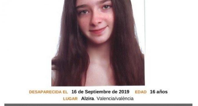 Localitzada en bon estat la menor de 16 anys desapareguda a Alzira