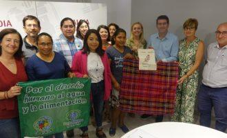 Una delegació de El Salvador repassa amb l'Alcalde d'Ontinyent l'execució de les ajudes del Fons Municipal de Cooperació al seu país