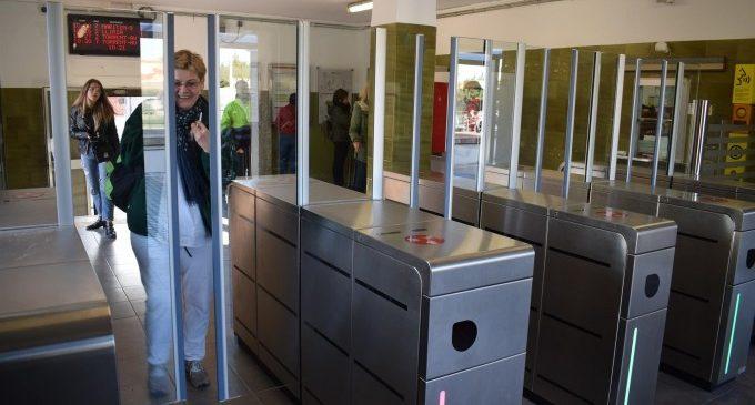 L'estació de metro d'Empalme comptarà amb una nova línia de validació