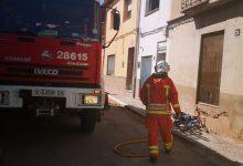 Dos joves atesos després d'incendiar-se un habitatge d'Utiel