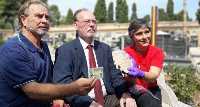 """Família de l'afusellat pel franquisme localitzat per unes cartes entre les seues restes: """"És una emoció indescriptible"""""""