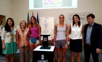 Hui arranca la quarta edició de l'Open Tenis Ciutat de València amb 64 jugadores internacionals