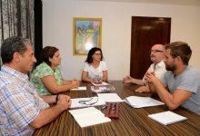 Primera reunió de treball amb Creu Roja per a dissenyar la futura col·laboració a Paiporta