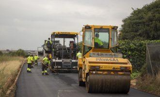 Picassent realitza treballs de pavimentació en diferents camins