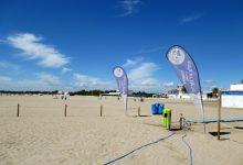 """La platja de Pinedo de València, restringida al bany per presentar l'aigua resultats """"no òptims"""" en les anàlisis"""