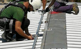 216 plaques fotovoltaiques s'instal·len al Cementeri General de València