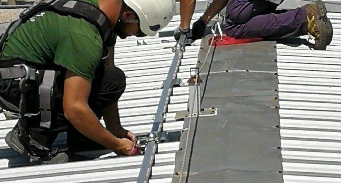 La puesta en marcha de las placas fotovoltaicas en el edificio de tabacalera supone en cuatro meses un ahorro de 11.700 kw de consumo