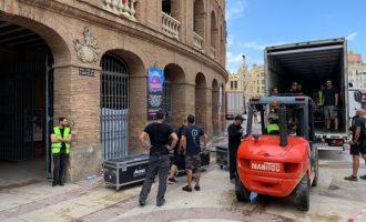 Les pluges inunden la Plaça de Bous de València i obliguen a cancel·lar el concert 'Love the Tuenti's València'