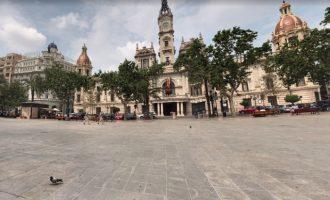 """La peatonalització de la Plaça de l'Ajuntament de València es farà """"sense assajos"""" i amb """"solucions definitives"""""""