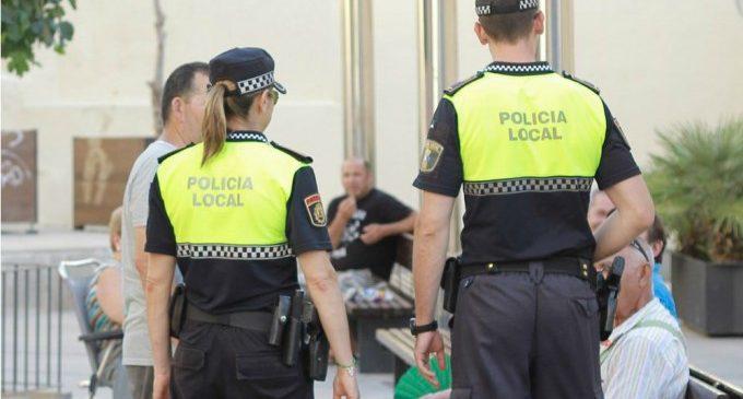 La Policia Local d'Ontinyent ha resolt un 56% dels casos municipals