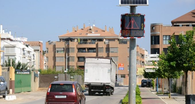 Paiporta estrena quatre radars didàctics amb motiu de la Setmana Europea de la Mobilitat