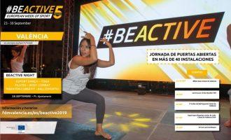 125 actividades gratuitas en la Semana Europa del Deporte
