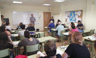 La Escuela de Adultos de Almussafes comienza las clases del nuevo curso 2019-2020