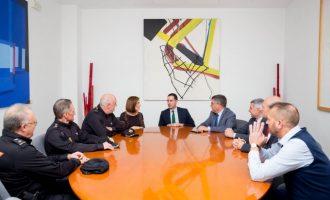 Mislata rep al delegat del Govern i al nou cap superior de la Policia