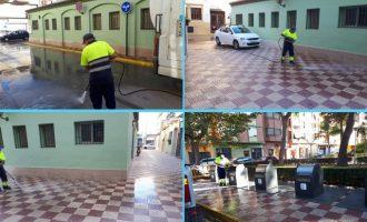 Últimes actuacions de manteniment i neteja a Almussafes