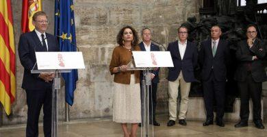 Puig destaca el compromiso del Estado en un nuevo modelo de financiación
