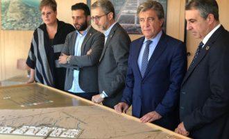 Arcadi España situa Parc Sagunt com a exemple de col·laboració entre administracions per a generar confiança i crear llocs de treball