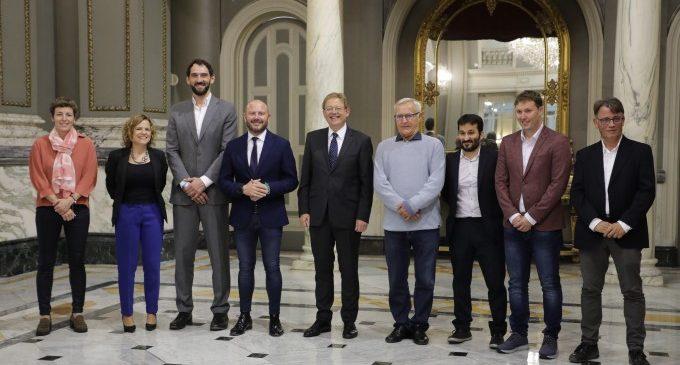 Ximo Puig destaca l'arrelament del bàsquet a València, futura seu de l'Eurobasket femení de 2021
